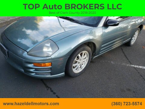 2001 Mitsubishi Eclipse for sale at TOP Auto BROKERS LLC in Vancouver WA