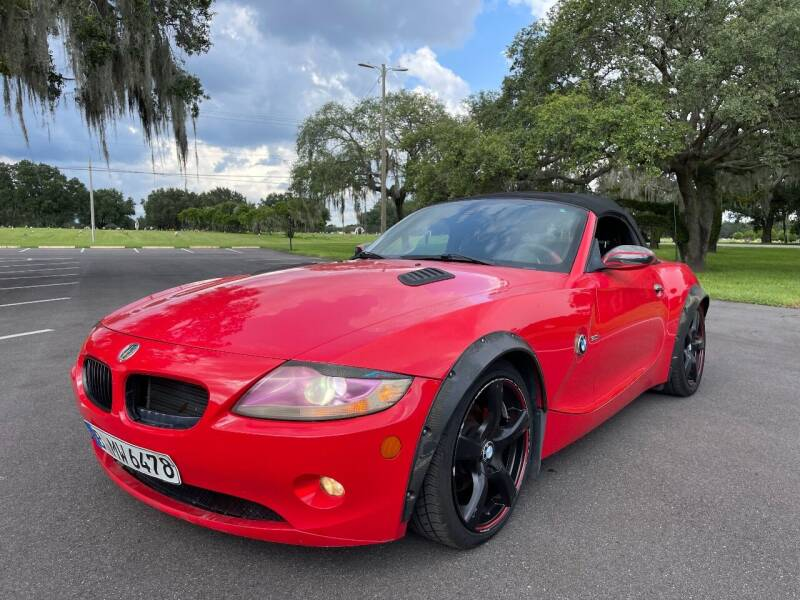 2005 BMW Z4 for sale at ROADHOUSE AUTO SALES INC. in Tampa FL