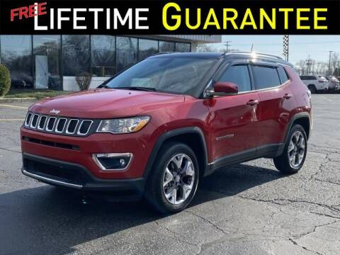 2020 Jeep Compass for sale at Vicksburg Chrysler Dodge Jeep Ram in Vicksburg MI