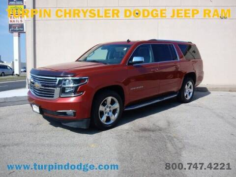 2015 Chevrolet Suburban for sale at Turpin Dodge Chrysler Jeep Ram in Dubuque IA