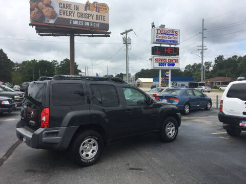2007 Nissan Xterra for sale at Deckers Auto Sales Inc in Fayetteville NC