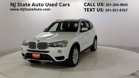2015 BMW X3 for sale at NJ State Auto Auction in Jersey City NJ