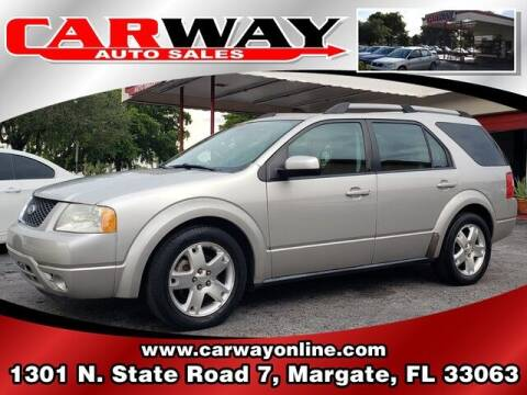 2007 Ford Freestyle for sale at CARWAY Auto Sales in Margate FL