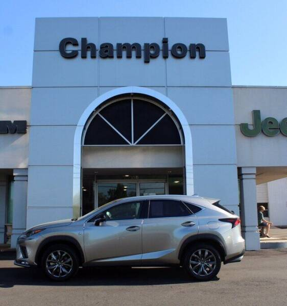 2020 Lexus NX 300 for sale at Champion Chevrolet in Athens AL