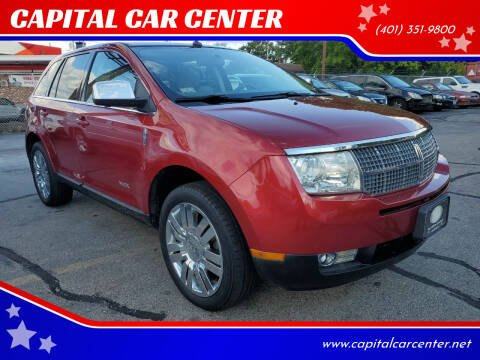 2008 Lincoln MKX for sale at CAPITAL CAR CENTER in Providence RI
