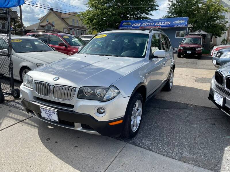2008 BMW X3 for sale at KBB Auto Sales in North Bergen NJ