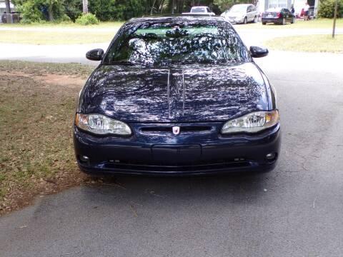 2001 Chevrolet Monte Carlo for sale at LANCASTER'S AUTO SALES INC in Fruitland Park FL