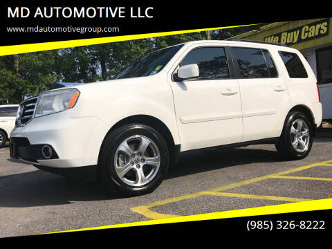 2012 Honda Pilot for sale at MD AUTOMOTIVE LLC in Slidell LA
