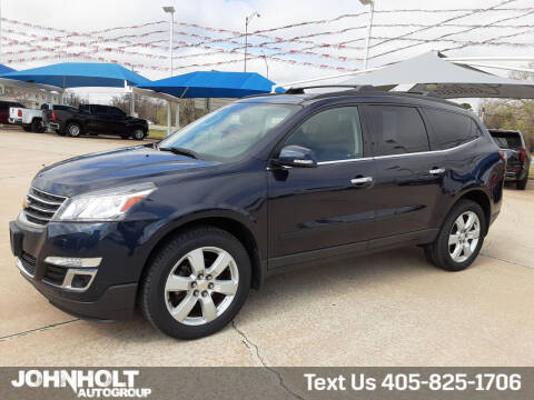 2017 Chevrolet Traverse for sale at JOHN HOLT AUTO GROUP, INC. in Chickasha OK