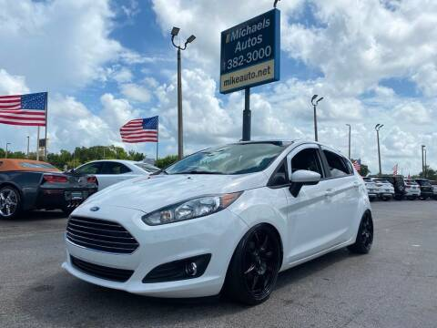 2018 Ford Fiesta for sale at Michaels Autos in Orlando FL