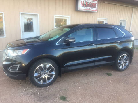 2016 Ford Edge for sale at Palmer Welcome Auto in New Prague MN