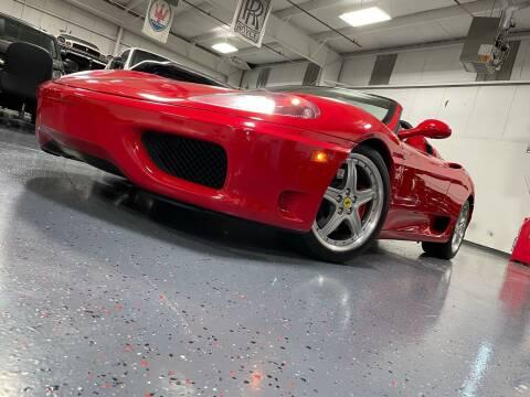 2003 Ferrari 360 Spider for sale at Luxury Auto Finder in Batavia IL