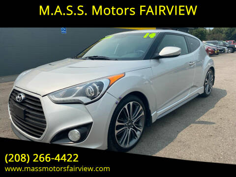 2014 Hyundai Veloster for sale at M.A.S.S. Motors - Fairview in Boise ID