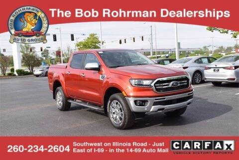 2019 Ford Ranger for sale at BOB ROHRMAN FORT WAYNE TOYOTA in Fort Wayne IN