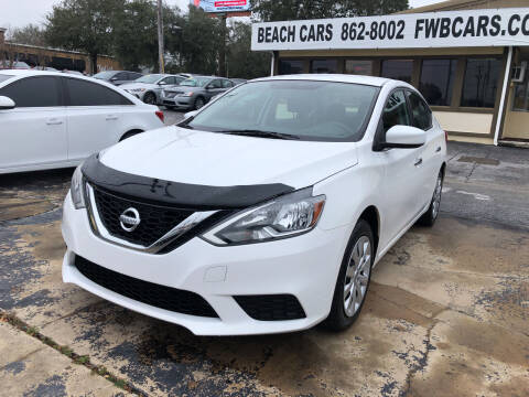 2017 Nissan Sentra for sale at Beach Cars in Fort Walton Beach FL
