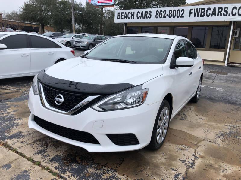 2017 Nissan Sentra for sale at Beach Cars in Fort Walton Beach FL