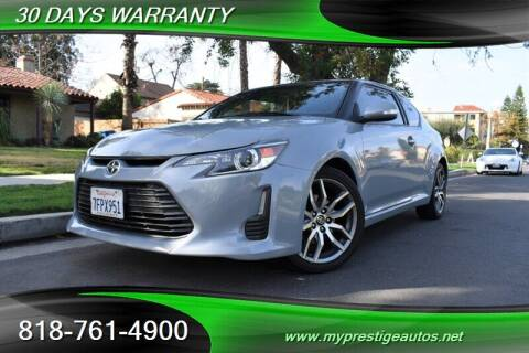 2014 Scion tC for sale at Prestige Auto Sports Inc in North Hollywood CA