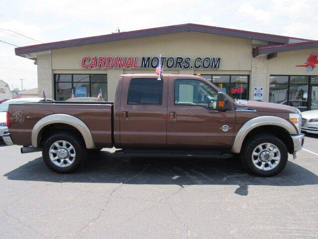 2012 Ford F-250 Super Duty for sale at Cardinal Motors in Fairfield OH
