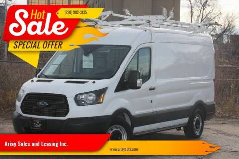 2015 Ford Transit Cargo for sale at Ariay Sales and Leasing Inc. - Pre Owned Storage Lot in Glendale CO