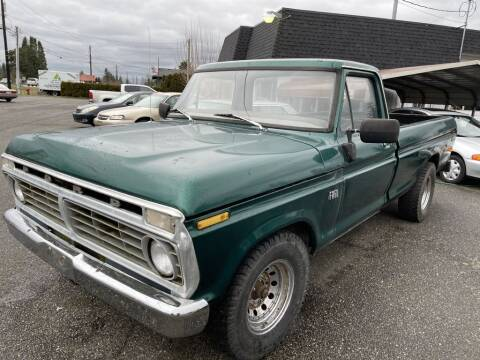 1975 Ford F-250 for sale at JMG MOTORS in Lynden WA