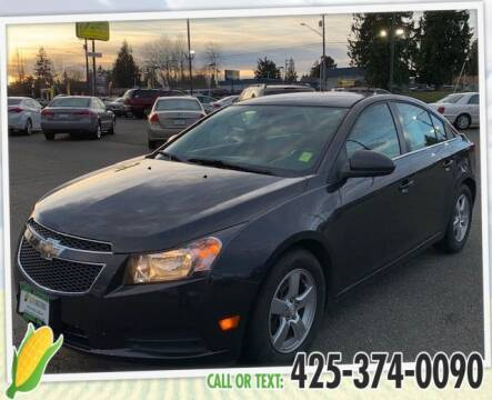 2014 Chevrolet Cruze for sale at Corn Motors in Everett WA