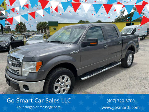 2013 Ford F-150 for sale at Go Smart Car Sales LLC in Winter Garden FL