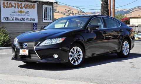 2014 Lexus ES 300h for sale at AMC Auto Sales, Inc. in Fremont CA