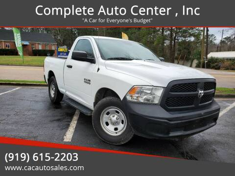 2016 RAM Ram Pickup 1500 for sale at Complete Auto Center , Inc in Raleigh NC