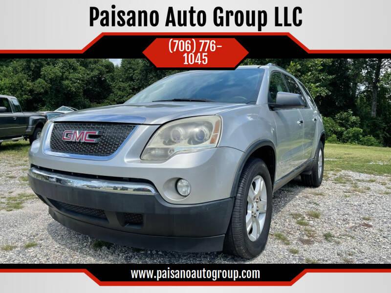 2007 GMC Acadia for sale at Paisano Auto Group LLC in Cornelia GA