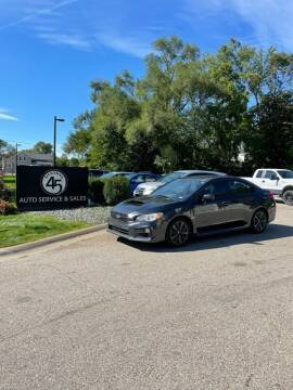 2018 Subaru WRX for sale at Station 45 Auto Sales Inc in Allendale MI