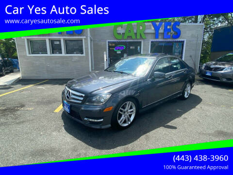 2013 Mercedes-Benz C-Class for sale at Car Yes Auto Sales in Baltimore MD