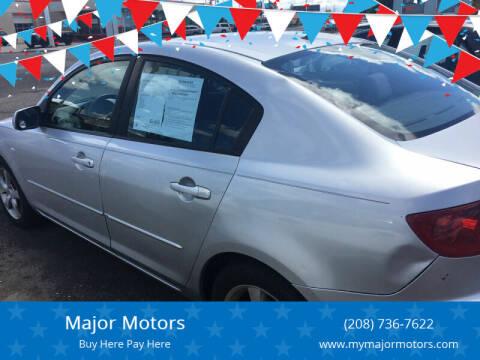 2004 Mazda MAZDA3 for sale at Major Motors in Twin Falls ID