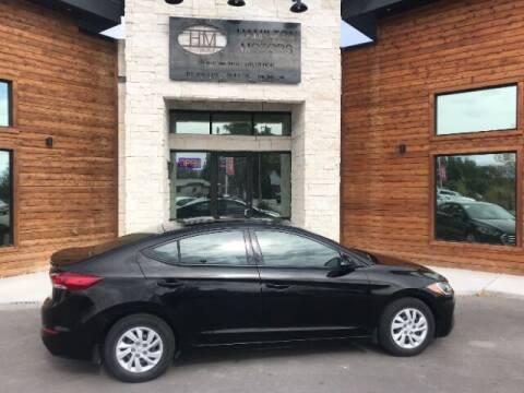 2018 Hyundai Elantra for sale at Hamilton Motors in Lehi UT