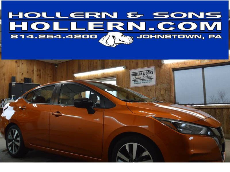 2020 Nissan Versa for sale at Hollern & Sons Auto Sales in Johnstown PA