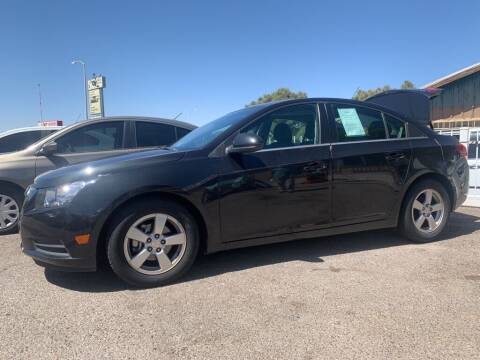 2014 Chevrolet Cruze for sale at Top Gun Auto Sales, LLC in Albuquerque NM
