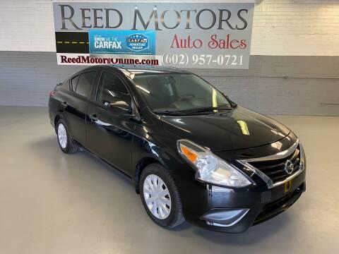 2017 Nissan Versa for sale at REED MOTORS LLC in Phoenix AZ