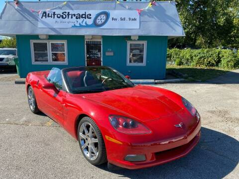 2008 Chevrolet Corvette for sale at Autostrade in Indianapolis IN