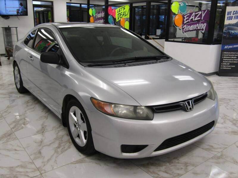 2008 Honda Civic for sale at Dealer One Auto Credit in Oklahoma City OK