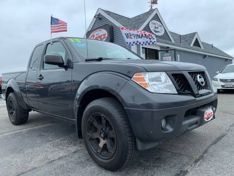 2013 Nissan Frontier for sale at Cape Cod Carz in Hyannis MA