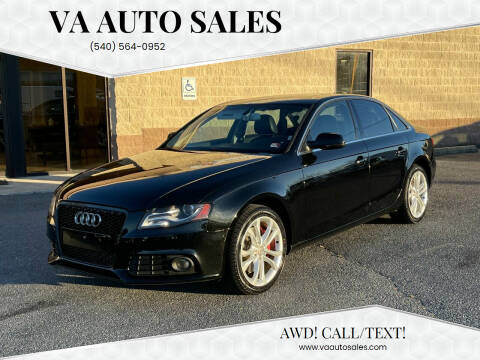 2012 Audi A4 for sale at Va Auto Sales in Harrisonburg VA
