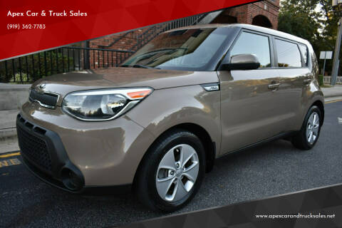 2016 Kia Soul for sale at Apex Car & Truck Sales in Apex NC