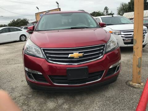 2013 Chevrolet Traverse for sale at Palmer Auto Sales in Rosenberg TX