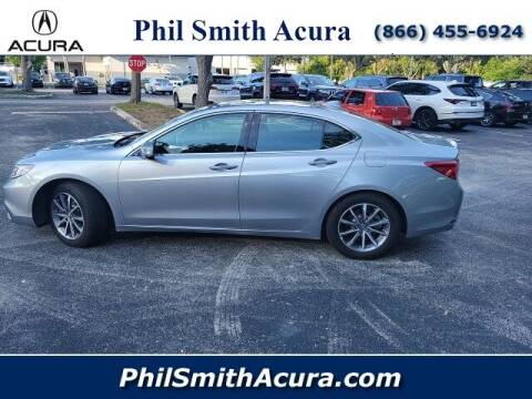 2020 Acura TLX for sale at PHIL SMITH AUTOMOTIVE GROUP - Phil Smith Acura in Pompano Beach FL