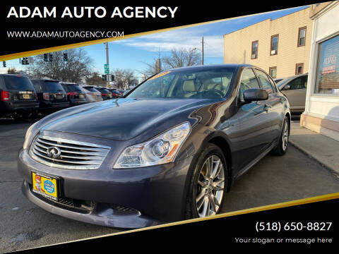 2008 Infiniti G35 for sale at ADAM AUTO AGENCY in Rensselaer NY