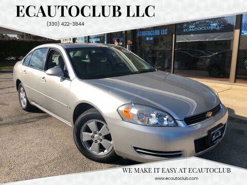 2006 Chevrolet Impala for sale at ECAUTOCLUB LLC in Kent OH