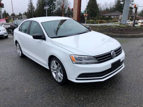 2016 Volkswagen Jetta for sale at KARMA AUTO SALES in Federal Way WA