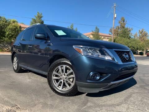 2015 Nissan Pathfinder for sale at Boktor Motors in Las Vegas NV