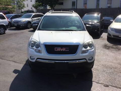 2012 GMC Acadia for sale at Olsi Auto Sales in Worcester MA