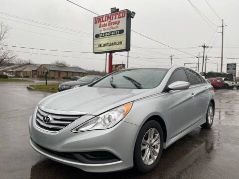 2014 Hyundai Sonata for sale at Unlimited Auto Group in West Chester OH