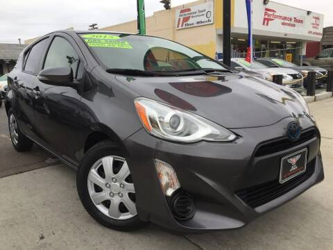 2015 Toyota Prius c for sale at Auto Express in Chula Vista CA